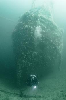 Wreck at Ullapool
